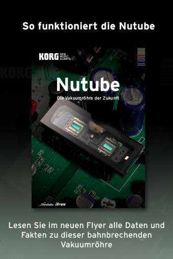 korg, nutube, flyer