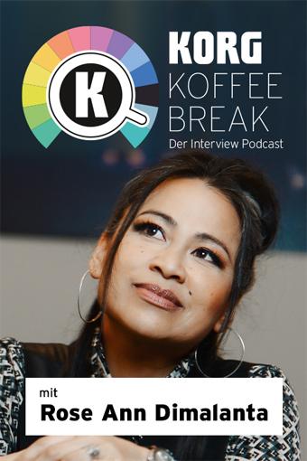 KORG KOFFEE BREAK   Der Interview Podcast - Folge1: Bodenständig am Bodensee: Rose Ann Dimalanta