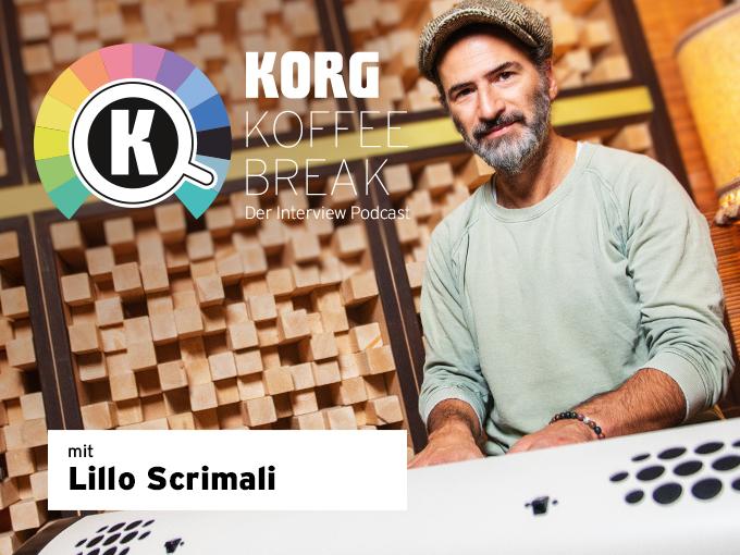 Zur KORG KOFFEE BREAK Podcast Folge 4 Lillo Scrimali