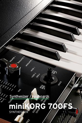 KORG, miniKORG 700FS, synthesizer