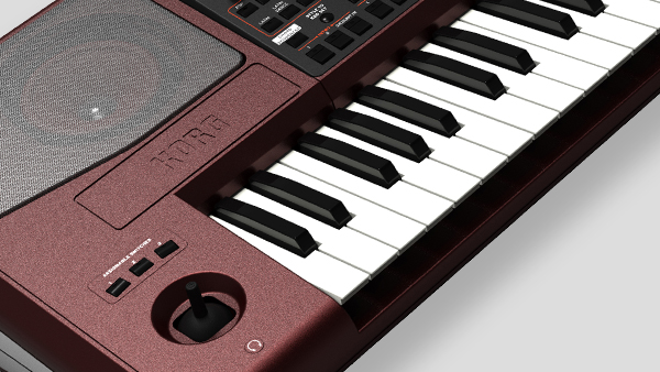 Korg PA1000 - Tastatur