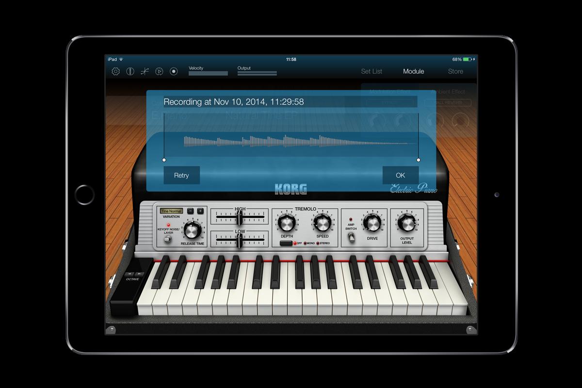 KORG Module for iPad