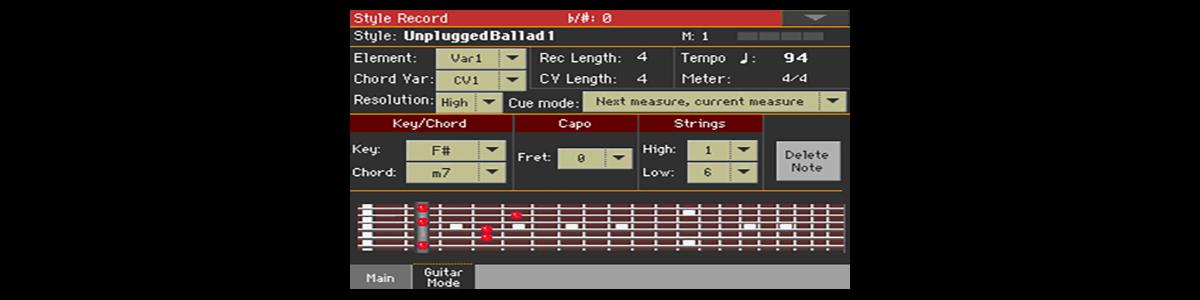Guitar Mode