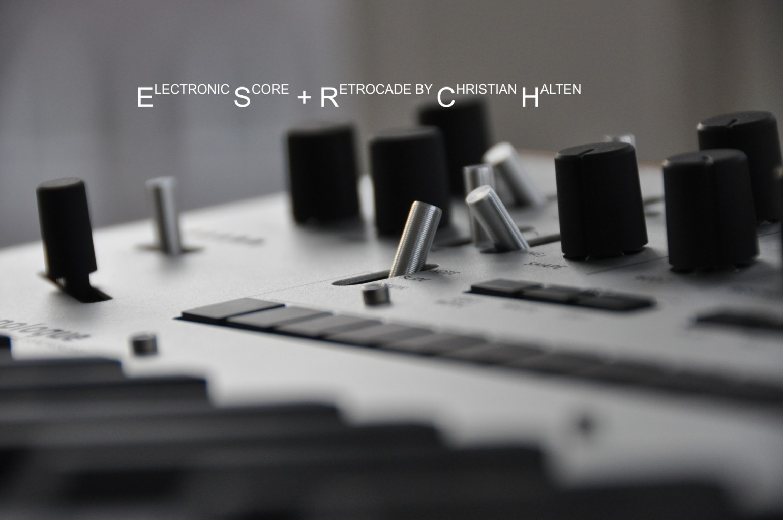 Electronic Score + Retrocade by Christian Halten