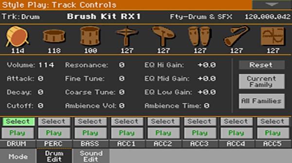 Mixer - Drum Edit