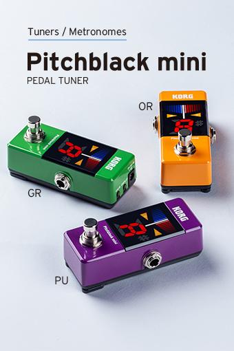 Pitchblack mini Color