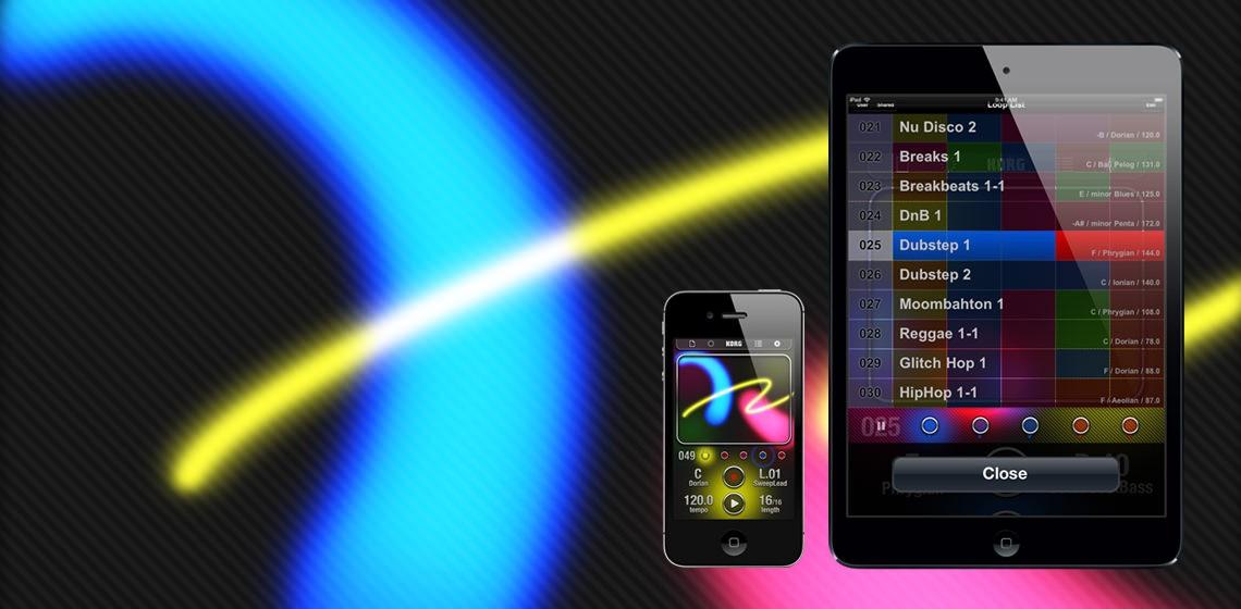 iKaossilator pour iPhone et iPad
