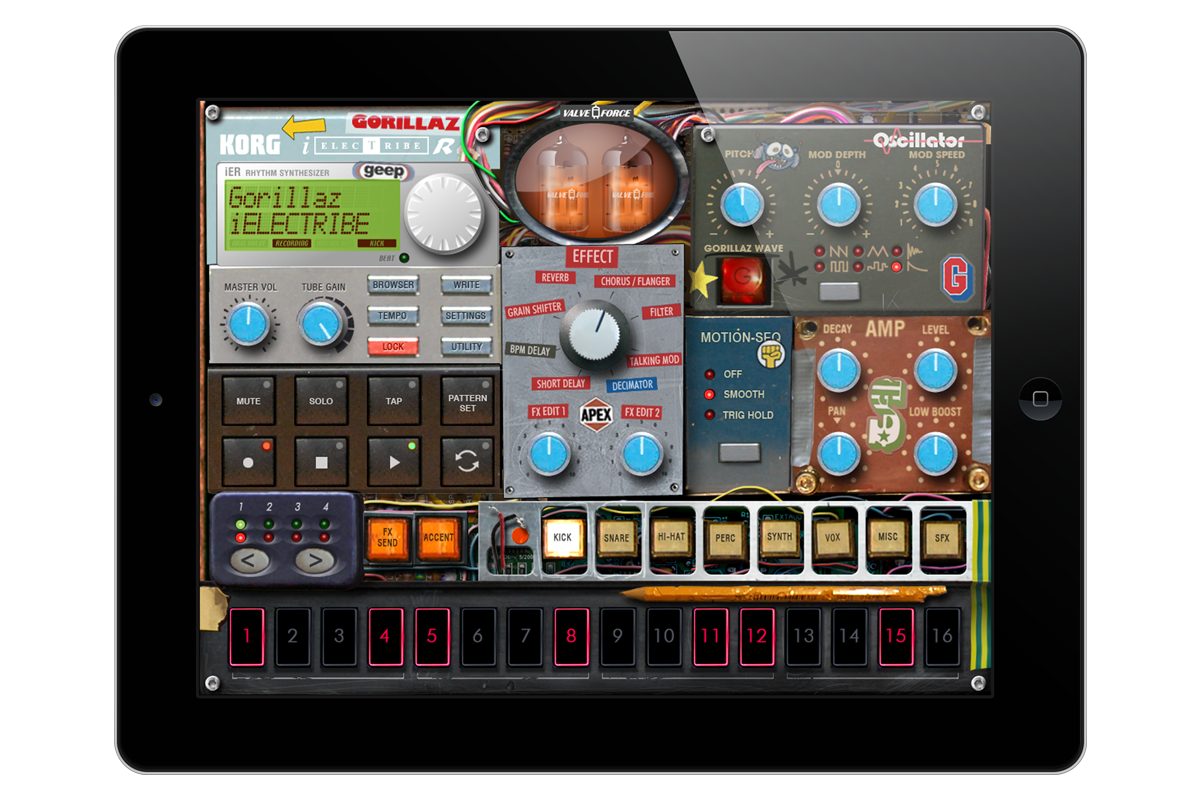 iELECTRIBE Gorillaz Edition