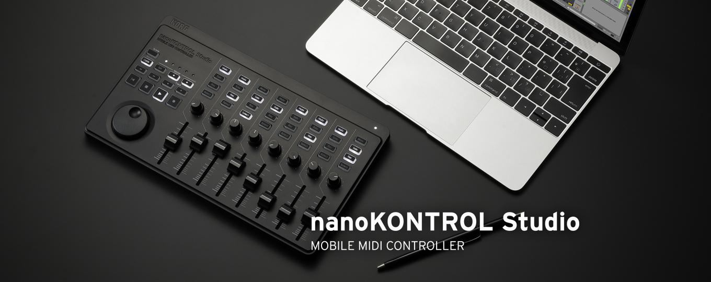 nanoKONTROL Studio
