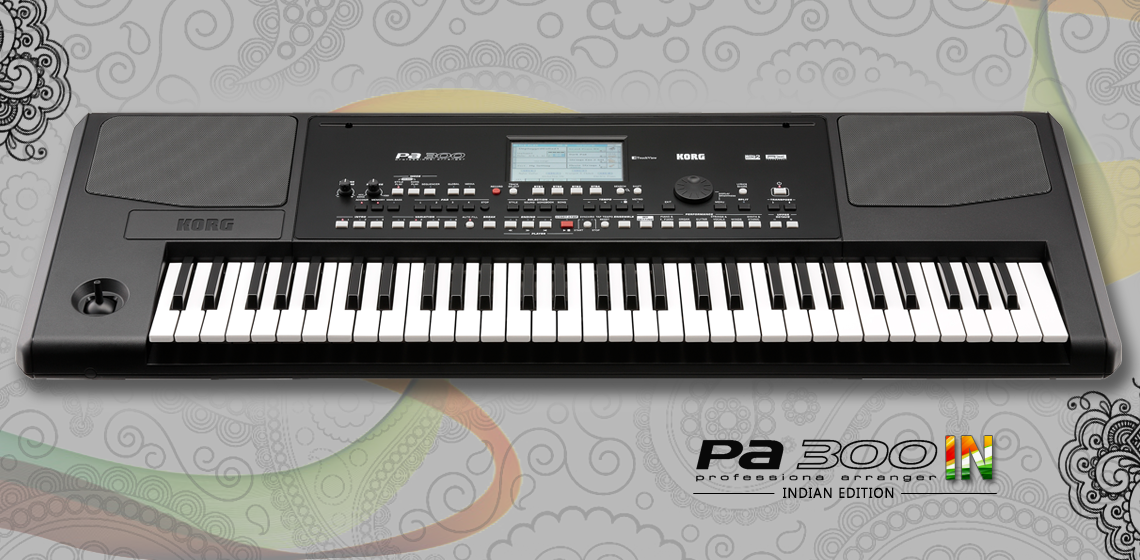 Indian Features | Pa300IN - PROFESSIONAL ARRANGER | KORG