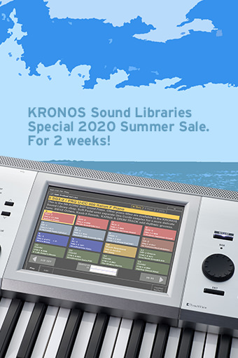 KRONOS Sound Libraries 2020 Summer Sale