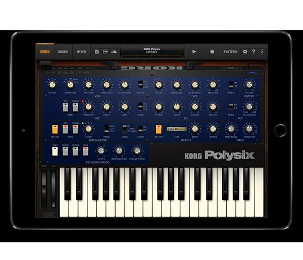 KORG iPolysix for iPad