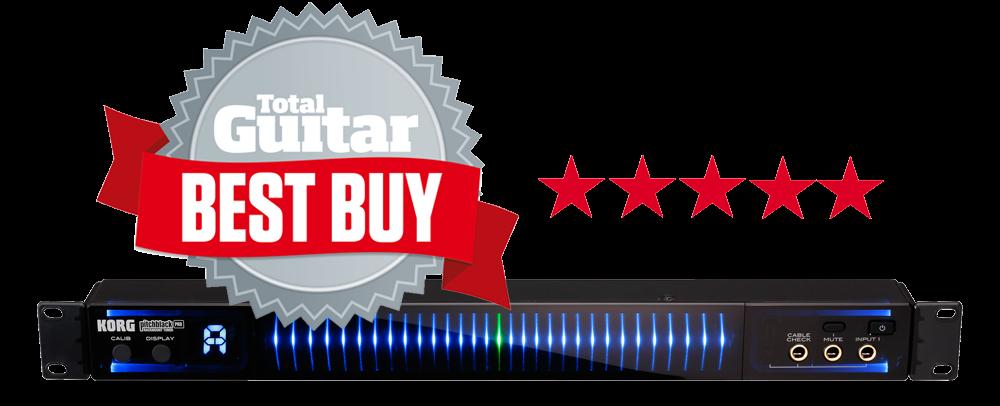 Pitchblack Pro Total Guitar's Best Buy Award