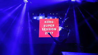 KORG SUPER SESSION 2017(八神純子/CYNTIA)