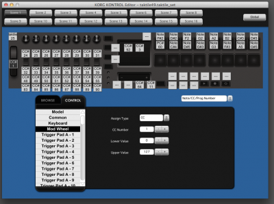 KORG KONTROL Editor v1.5.0