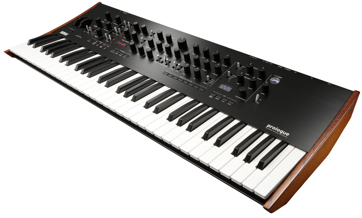 prologue polyphonic analogue synthesizer korg japan