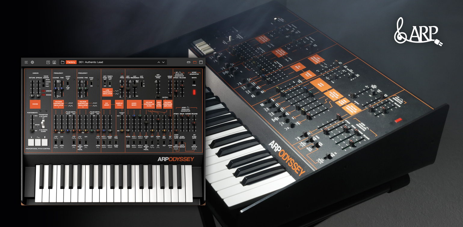 ARP ODYSSEY for Mac/Win