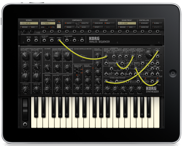 KORG iMS-20 for iPad