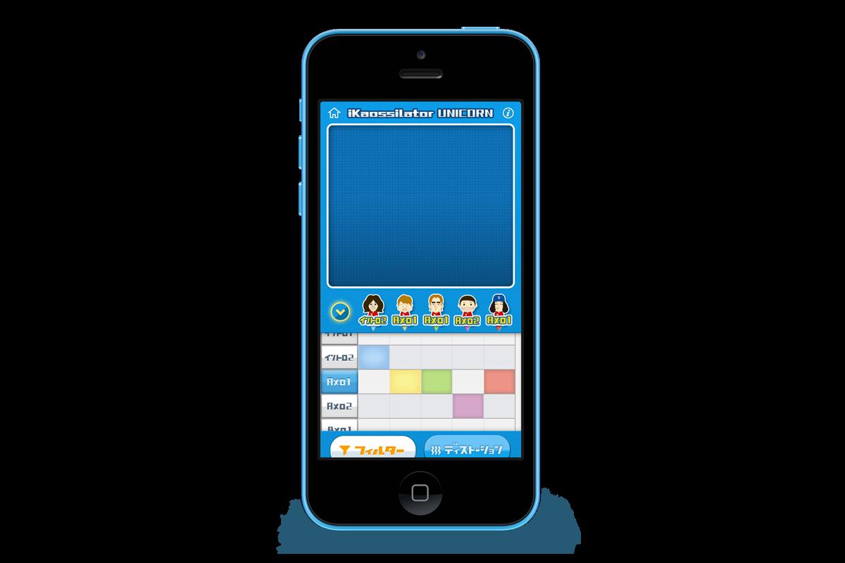 iKaossilator Unicorn for iPhone