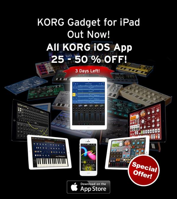 KORG app Sale
