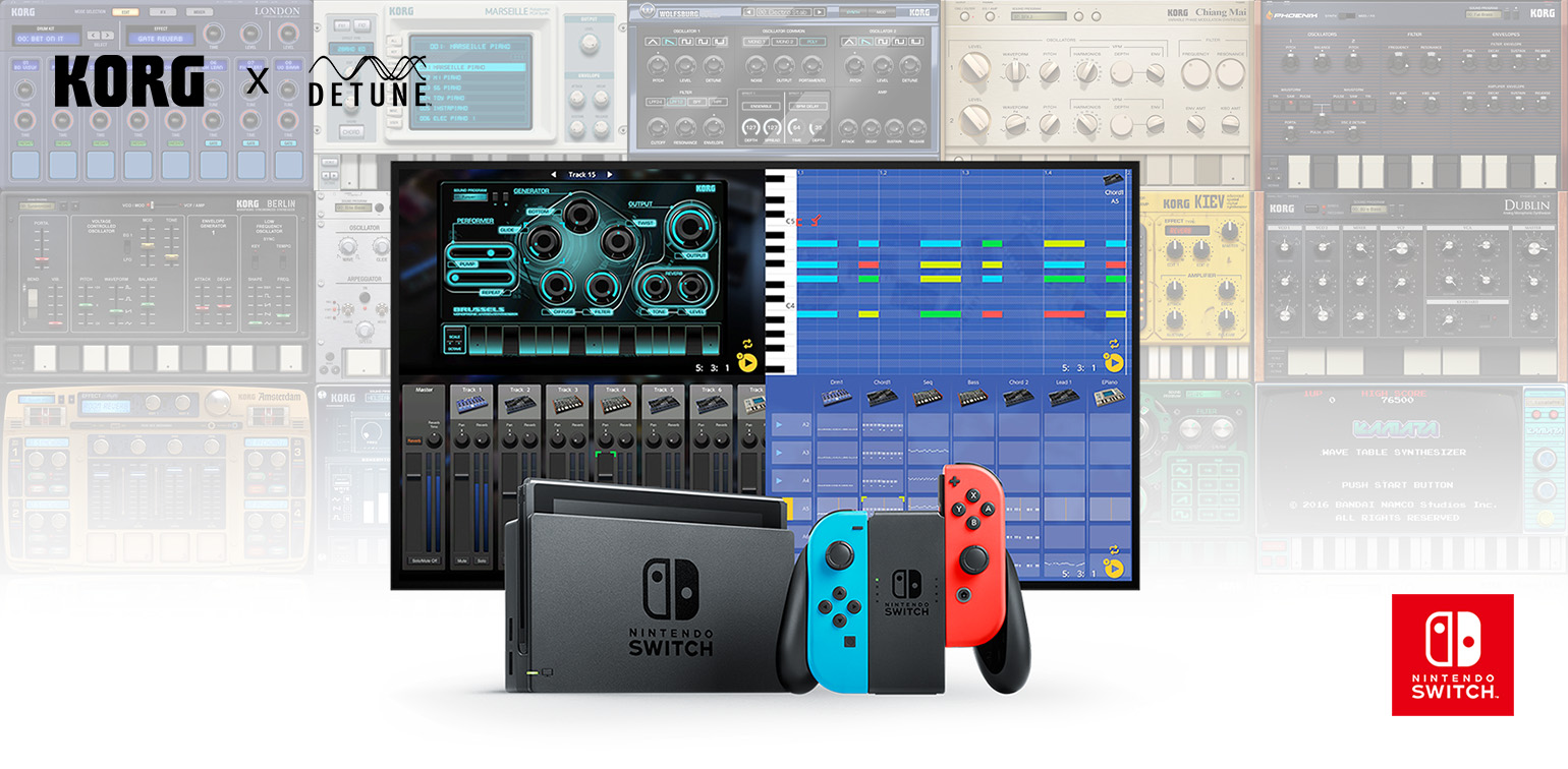 News Play Games Make Music A Music Creation Studio That Feels Like A Game Finally Korg Gadget For Nintendo Switch Goes On Sale Korg Middle East En
