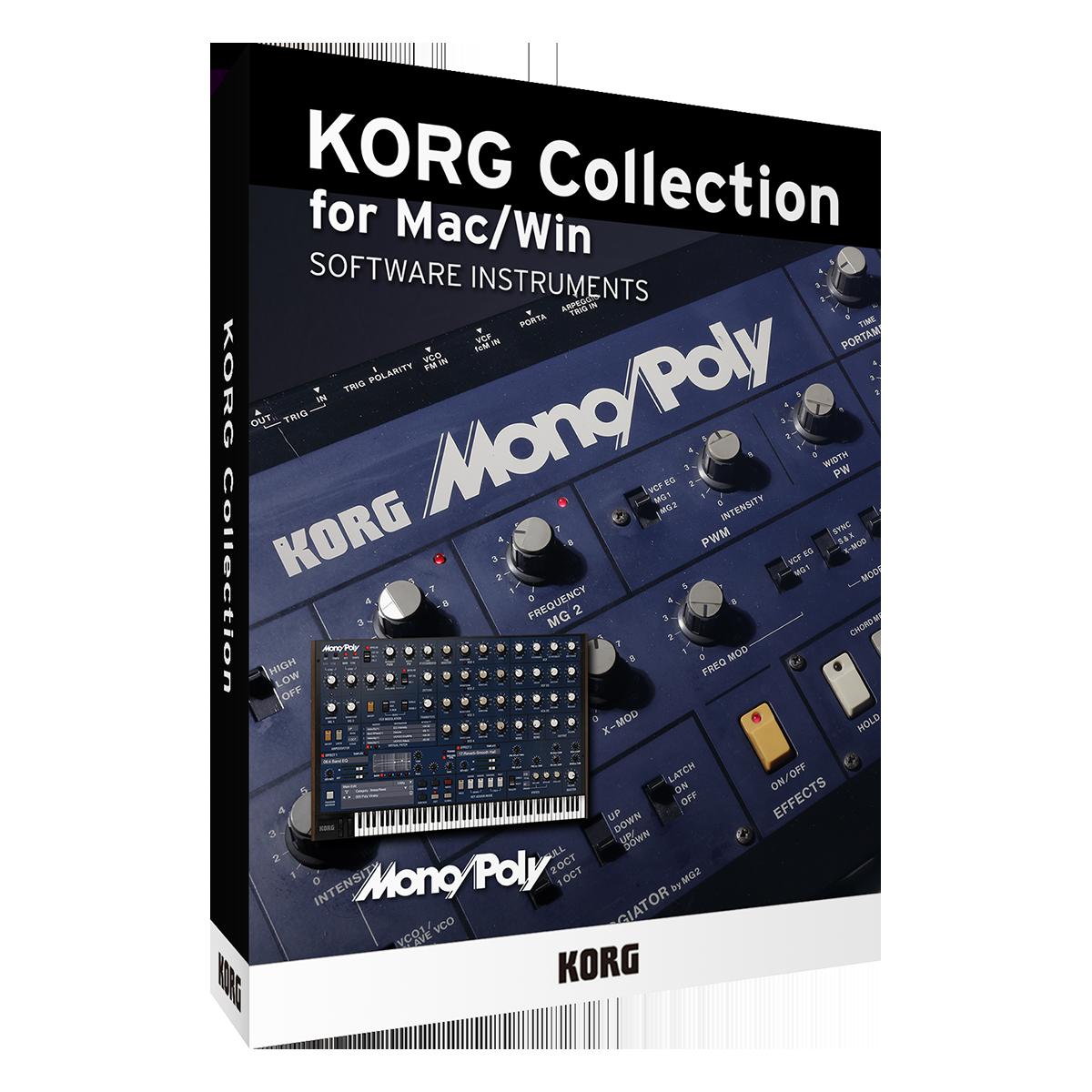 KORG Collection 3 - Mono/Poly