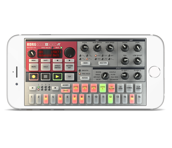 KORG iELECTRIBE for iPhone