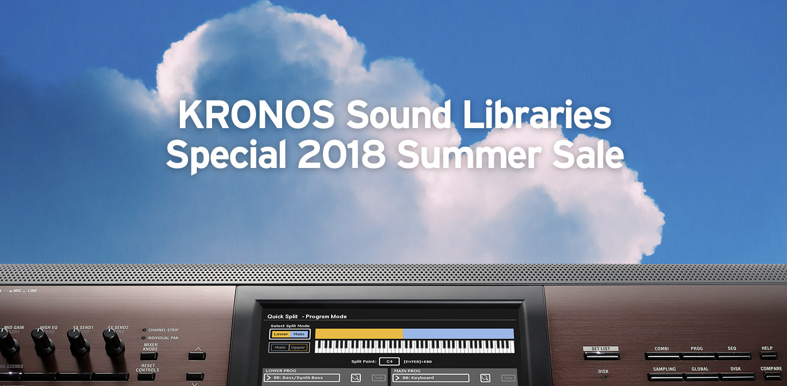 News | KRONOS Sound Libraries - Special 2018 Summer Sale  For SEVEN