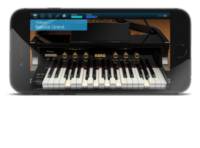 KORG Module Standard for iPhone   MOBILE SOUND MODULE   KORG