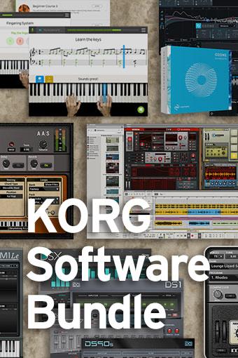 KORG Software Bundle News