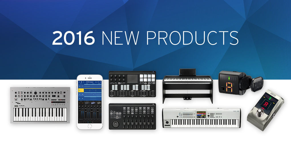 Korg Announces New Products At Winter Namm 2016