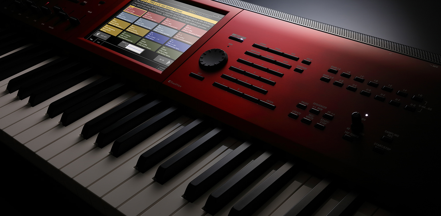 KRONOS - MUSIC WORKSTATION | KORG (Philippines)