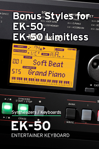 EK-50 Bonus Styles