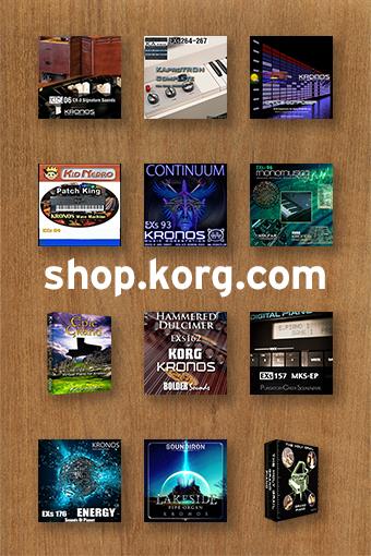shop.korg.com