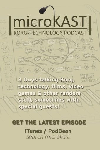 microKAST - KORG's No.1 Award Winning KORG Podcast! 100% Unofficial, all views are our own.