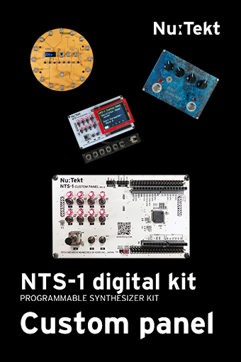 NTS-1 Custom panel