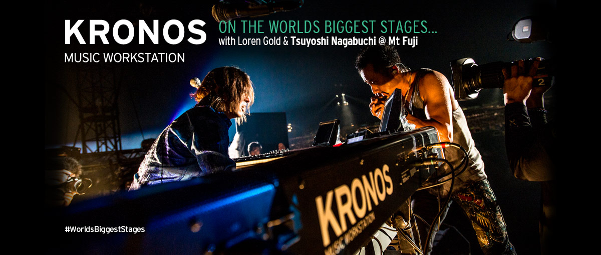 Loren Gold & Tsuyoshi Nagabuchi @ Mt Fuji