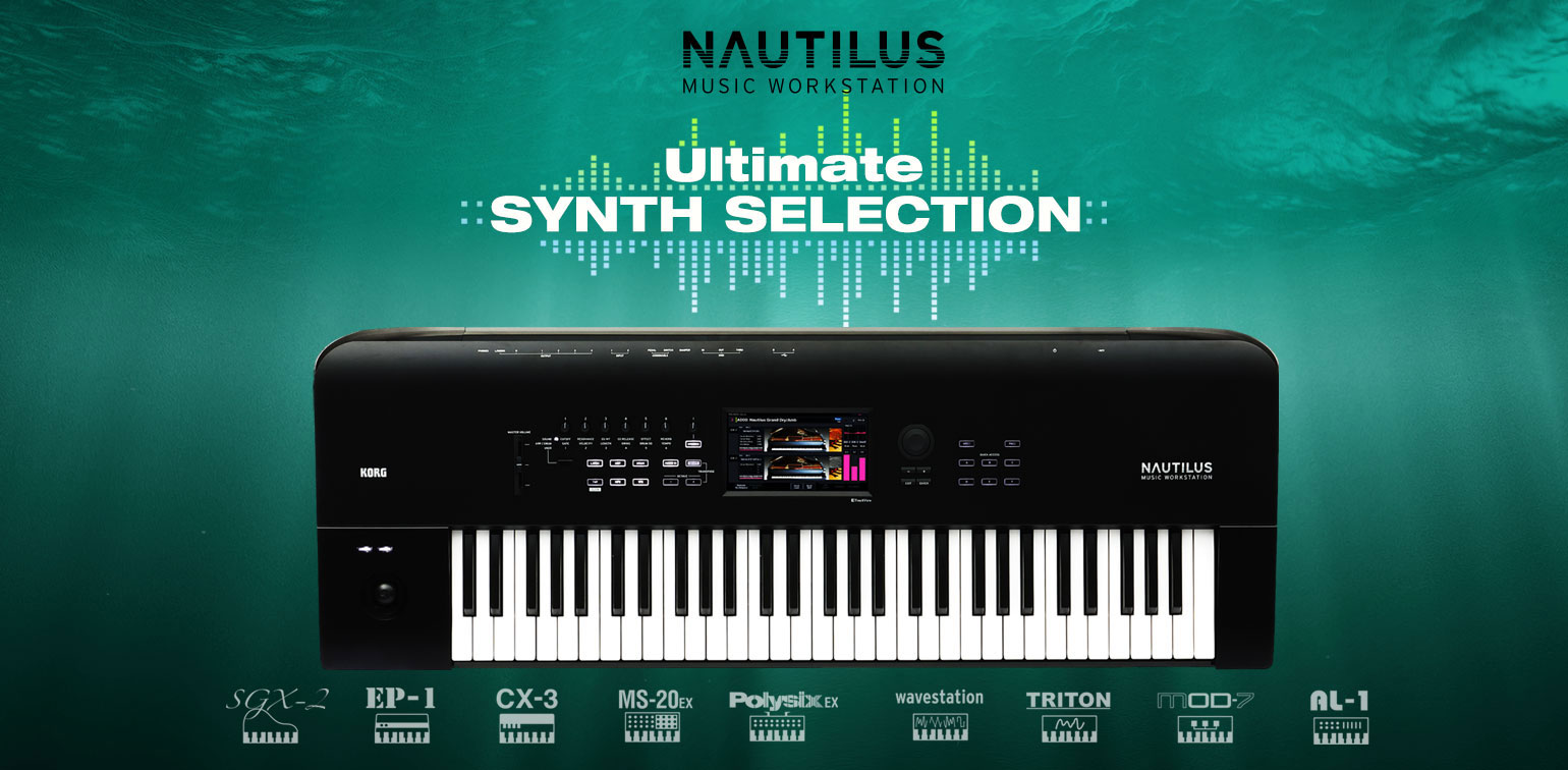 Nautilus Ultimate Synth Selection