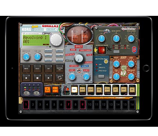 KORG iELECTRIBE Gorillaz Edition for iPad