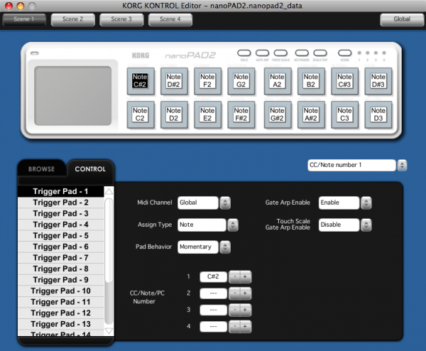 Korg Kontrol Editor For Mac