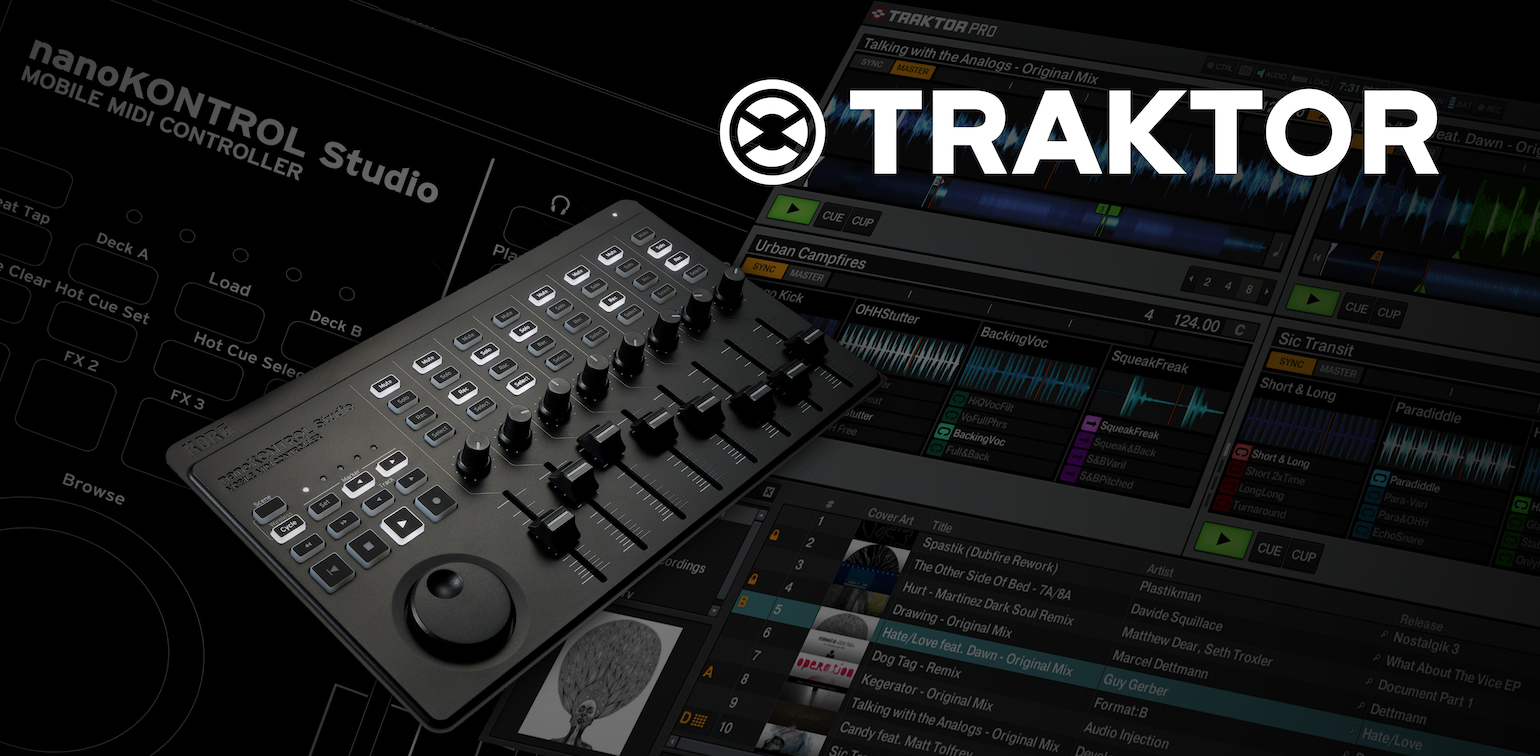 News | Control TRAKTOR with nanoKONTROL Studio! Mapping data