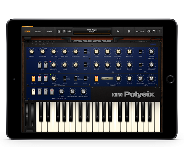 KORG iPolysix for iPad