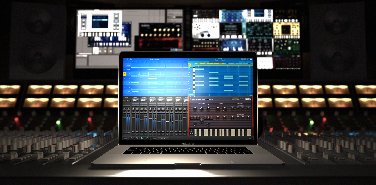in-one music production studio software, is now available!