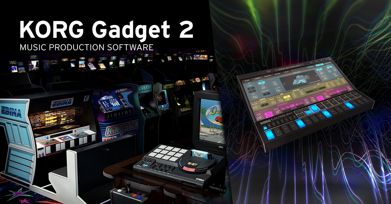 News | SEGA, TAITO, KORG : A major update of KORG Gadget 2 with 3