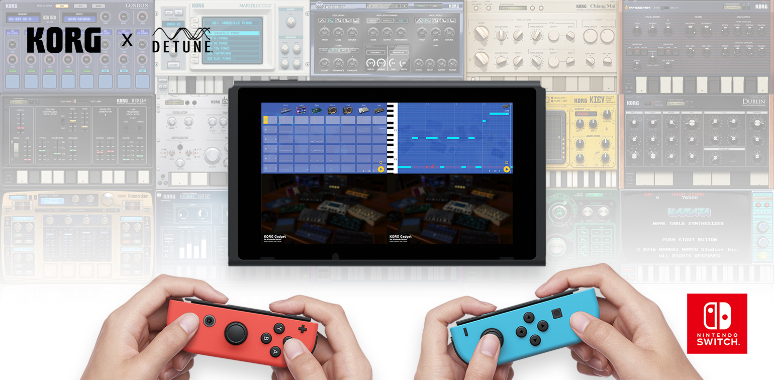 News | KORG Gadget for Nintendo Switch Supports Single Joy