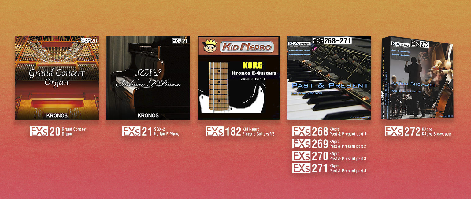 News | New KRONOS Sound Libraries: two new libraries from