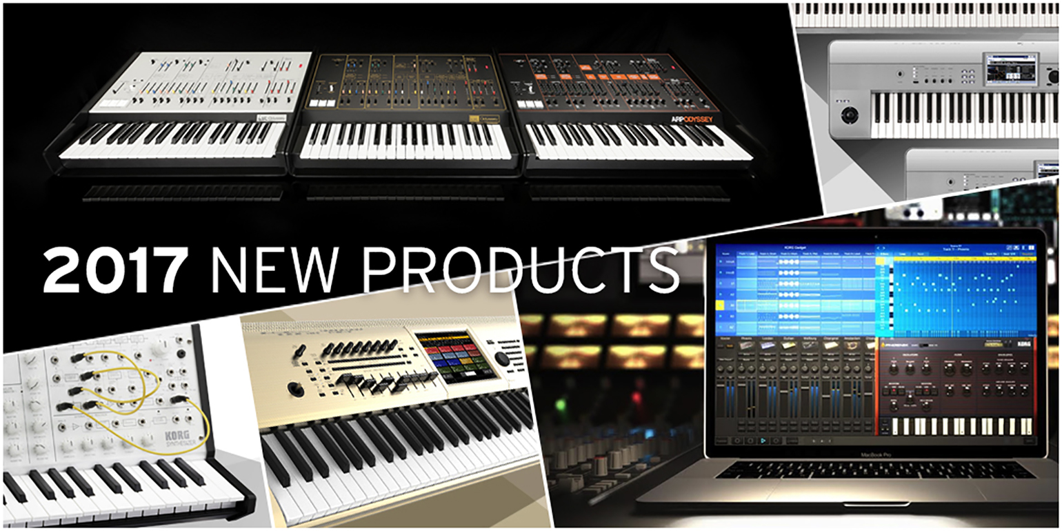 News | KORG announces new products at Winter NAMM 2017