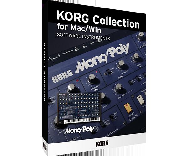 KORG Collection 2 - Mono/Poly