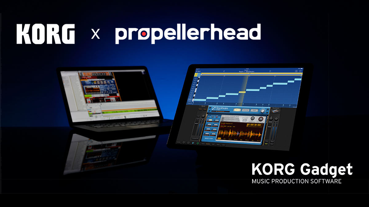 News | KORG Gadget for iOS / Mac collaboration with Propellerhead Reason. The new version of KORG Gadget adds a new gadget and is available now! Limited Time Sale. | KORG (USA)