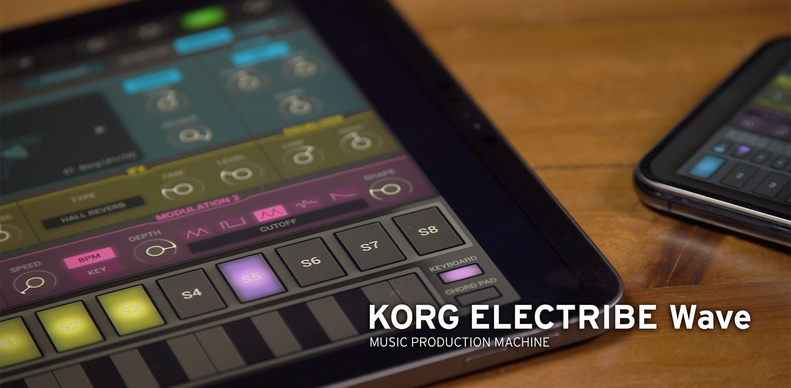 News | KORG ELECTRIBE Wave has undergone a major update  The latest